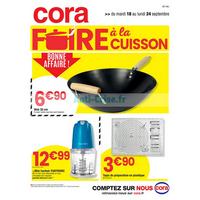 Catalogue Cora du 18 au 24 septembre 2018 (IDF Ouest)