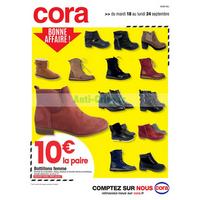 Catalogue Cora du 18 au 24 septembre 2018 (Nord)