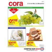 Catalogue Cora du 18 au 24 septembre 2018 (Nord Frais)