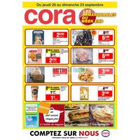 Catalogue Cora du 20 au 23 septembre 2018 (Arcueil)