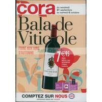 Catalogue Cora du 21 septembre au 6 octobre 2018 (Ouest - Vins)