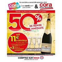 Catalogue Cora du 24 au 29 septembre 2018 (Reims Neuvillette)