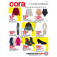 Catalogue Cora du 25 au 29 septembre 2018 (Lorraine)