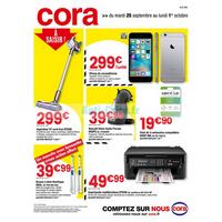 Catalogue Cora du 25 septembre au 1er octobre 2018 (Alsace)