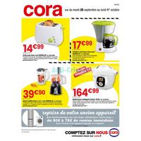 Catalogue Cora du 25 septembre au 1er octobre 2018 (Centre-Est)