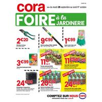 Catalogue Cora du 25 septembre au 1er octobre 2018 (Champagne)