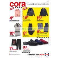 Catalogue Cora du 25 septembre au 1er octobre 2018 (IDF Ouest)