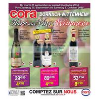 Catalogue Cora du 25 septembre au 6 octobre 2018 (Dornach-Wittenheim)