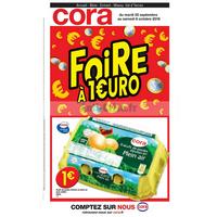 Catalogue Cora du 25 septembre au 6 octobre 2018 (IDF Ouest)