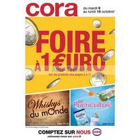 Catalogue Cora du 9 au 15 octobre 2018