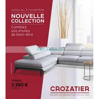 Catalogue Crozatier du 19 septembre au 3 novembre 2018