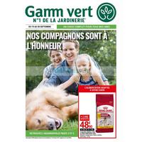 Catalogue Gamm Vert du 19 au 30 septembre 2018