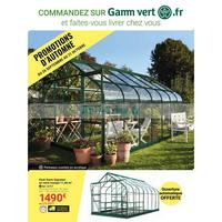 Catalogue Gamm Vert du 26 septembre au 31 octobre 2018