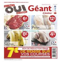 Catalogue Géant Casino du 25 septembre au 7 octobre 2018