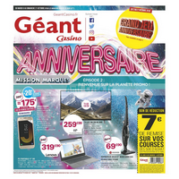 Catalogue Géant Casino du 9 au 21 octobre 2018