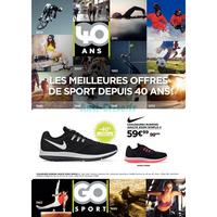 Catalogue Go Sport du 10 au 23 septembre 2018