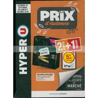 Catalogue Hyper U du 25 septembre au 6 octobre 2018