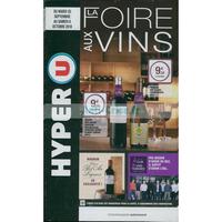Catalogue Hyper U du 25 septembre au 6 octobre 2018 (Foire aux Vins)