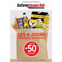 Catalogue Intermarché du 18 au 23 septembre 2018 (Version Super)