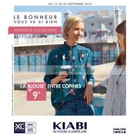 Catalogue Kiabi du 12 au 25 septembre 2018