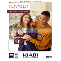 Catalogue Kiabi du 26 septembre au 9 octobre 2018