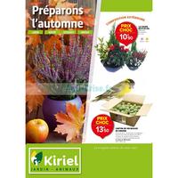 Catalogue Kiriel du 1er octobre au 10 novembre 2018
