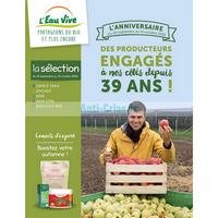 Catalogue L'Eau Vive du 29 septembre au 31 octobre 2018