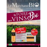 Catalogue Le Marchand Bio du 10 septembre au 6 octobre 2018
