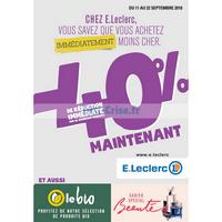 Catalogue Leclerc du 11 au 22 septembre 2018