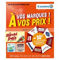 Catalogue Leclerc du 25 au 29 septembre 2018 (Depts 44 85)