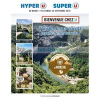 Catalogue Magasins U du 11 au 22 septembre 2018 (Ardèche)