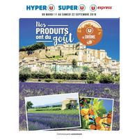 Catalogue Magasins U du 11 au 22 septembre 2018 (Drôme)