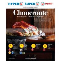 Catalogue Magasins U du 18 au 22 septembre 2018 (Est - Choucroute)