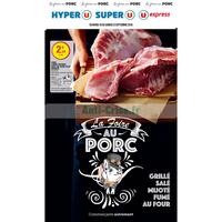 Catalogue Magasins U du 18 au 22 septembre 2018 (Est - Porc)