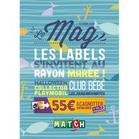 Catalogue Match du 1er au 31 octobre 2018 (Le Mag)