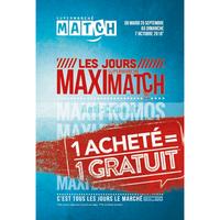 Catalogue Match du 25 septembre au 7 octobre 2018