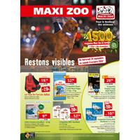 Catalogue Maxi Zoo du 26 septembre au 6 octobre 2018
