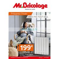 Catalogue Mr Bricolage du 26 septembre au 14 octobre 2018