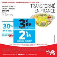 Catalogue My Auchan du 26 septembre au 2 octobre 2018