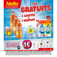 Catalogue Netto du 25 au 30 septembre 2018