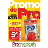 Catalogue Promocash du 13 au 22 septembre 2018