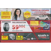 Catalogue Roady du 11 au 6 octobre 2018