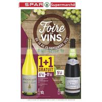 Catalogue Spar du 10 au 23 septembre 2018 (Supermarché)