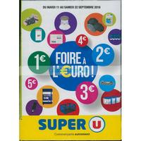 Catalogue Super U du 11 au 22 septembre 2018