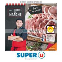 Catalogue Super U du 18 au 22 septembre 2018 (Ouest)