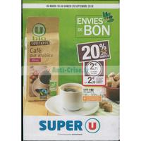 Catalogue Super U du 18 au 29 septembre 2018 (Bio)