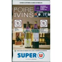 Catalogue Super U du 25 septembre au 6 octobre 2018 (Foire aux Vins)