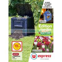 Catalogue U Express du 18 septembre au 6 octobre 2018 (Jardin)