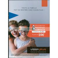 Catalogue Vision Plus du 27 août au 27 octobre 2018