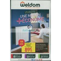 Catalogue Weldom du 19 septembre au 13 octobre 2018